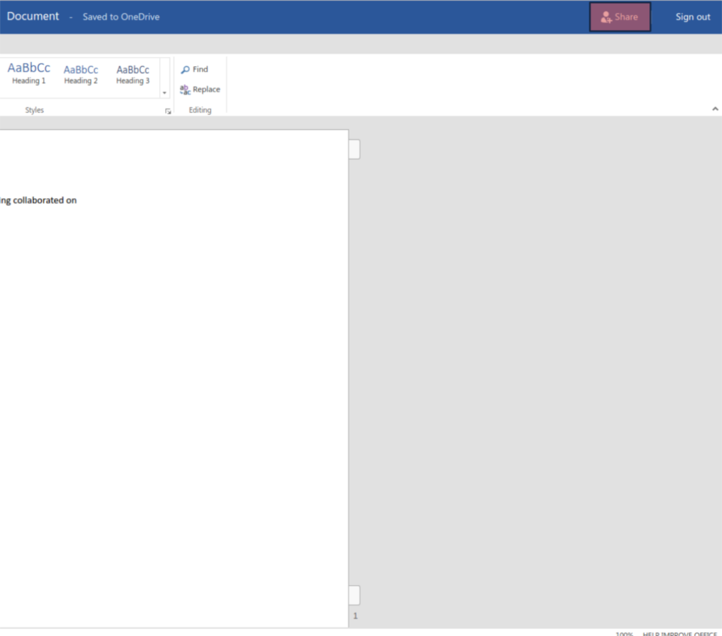 Office365 Co-Authoring documents in word